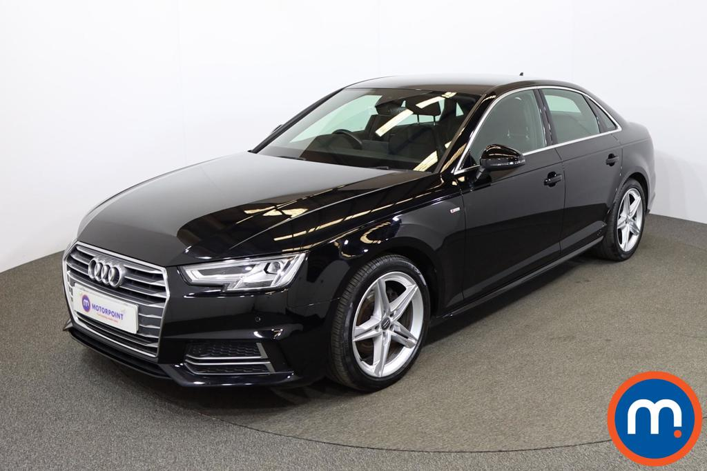 Audi A4 2.0T FSI S Line 4dr S Tronic [Leather-Alc] - Stock Number 1191045 Passenger side front corner