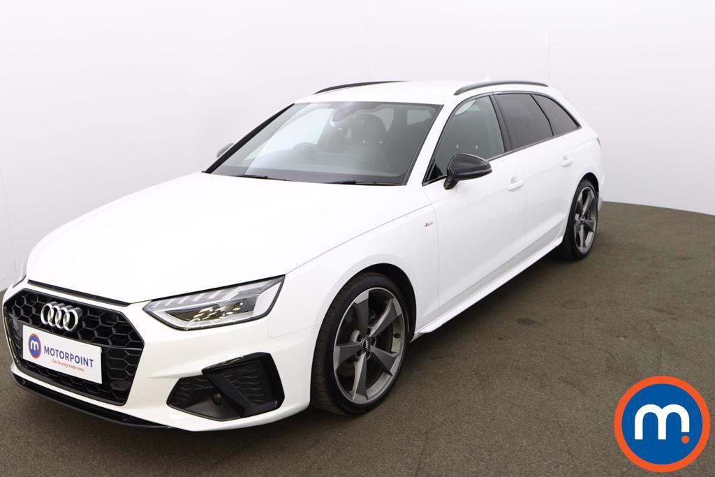 Audi A4 35 TDI Black Edition 5dr S Tronic - Stock Number 1188125 Passenger side front corner