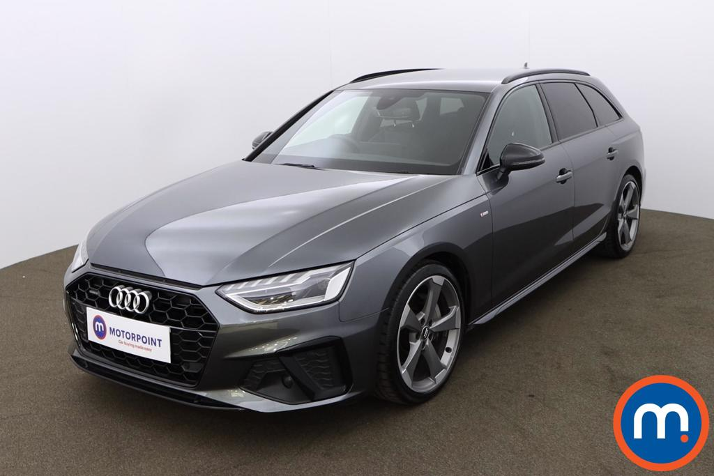 Audi A4 40 TDI Quattro Black Edition 5dr S Tronic - Stock Number 1187834 Passenger side front corner
