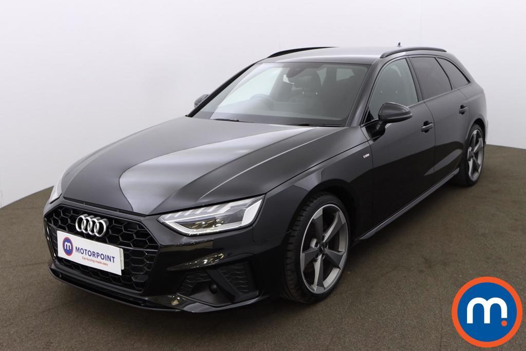 Audi A4 35 TDI Black Edition 5dr S Tronic - Stock Number 1188128 Passenger side front corner