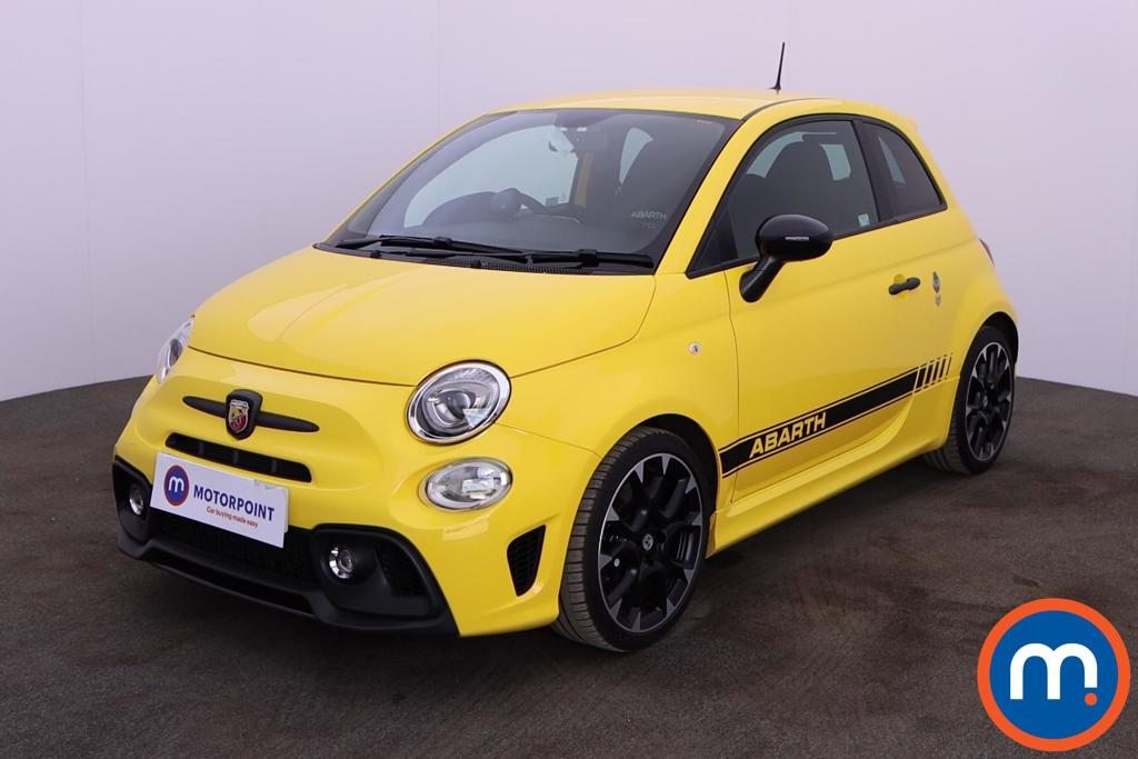 Abarth 595 1.4 T-Jet 180 Competizione 3dr - Stock Number 1194339 Passenger side front corner