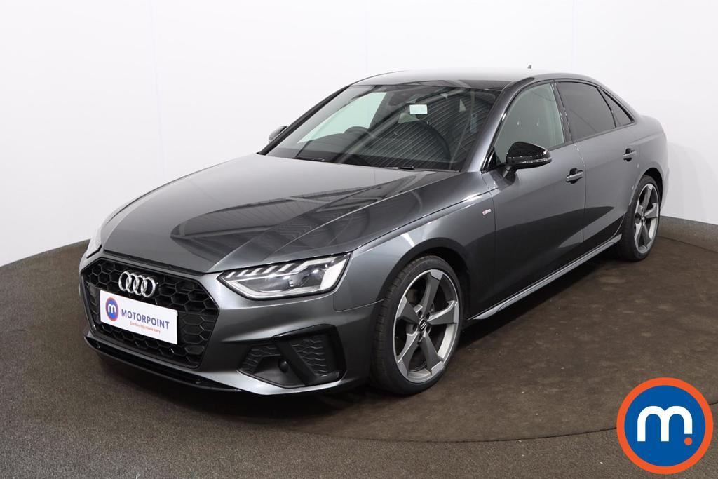 Audi A4 35 TFSI Black Edition 4dr S Tronic - Stock Number 1186164 Passenger side front corner