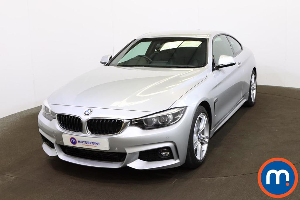BMW 4 Series 430d M Sport 2dr Auto [Professional Media] - Stock Number 1192983 Passenger side front corner