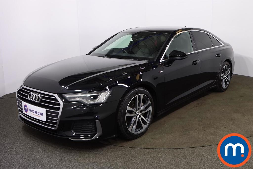Audi A6 40 TDI S Line 4dr S Tronic [Tech Pack] - Stock Number 1190022 Passenger side front corner