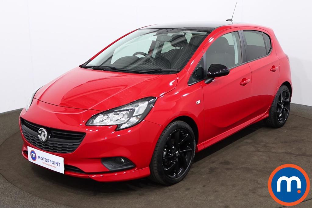 Vauxhall Corsa 1.4 SRi Vx-line Nav Black 5dr - Stock Number 1188588 Passenger side front corner