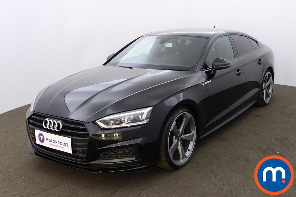 Audi A5 35 TFSI Black Edition 5dr S Tronic - Stock Number 1193925 Passenger side front corner