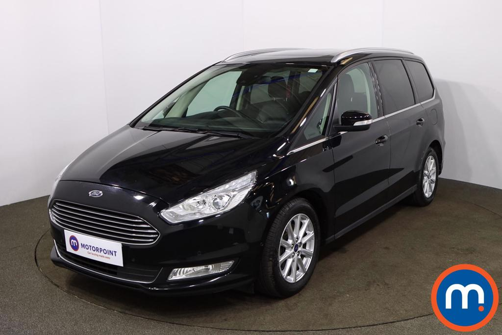 Ford Galaxy 2.0 EcoBlue 150 Titanium X 5dr Auto - Stock Number 1187998 Passenger side front corner