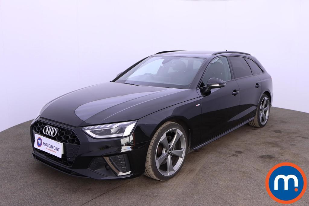 Audi A4 35 TDI Black Edition 5dr S Tronic - Stock Number 1188153 Passenger side front corner