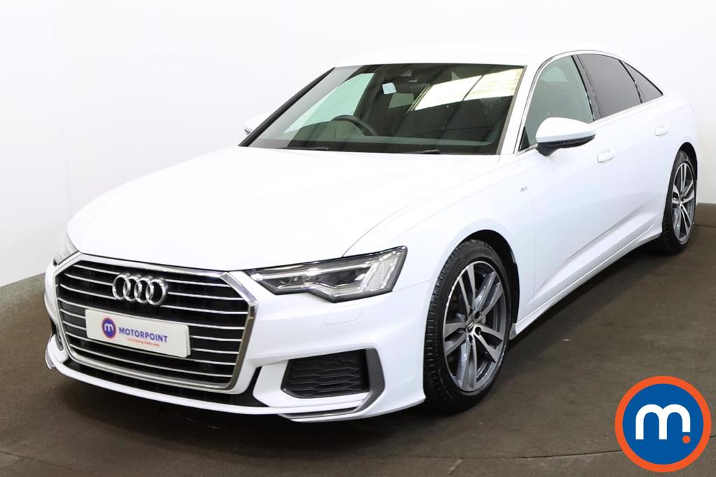 Audi A6 40 TDI S Line 4dr S Tronic [Tech Pack] - Stock Number 1194071 Passenger side front corner