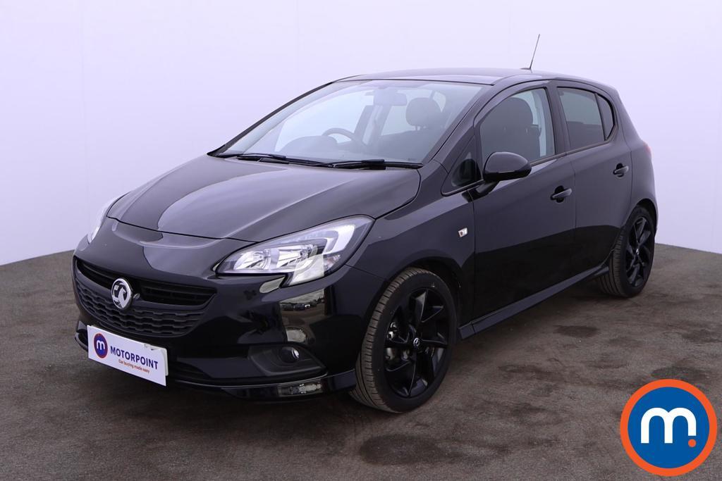 Vauxhall Corsa 1.4 SRi Vx-line Nav Black 5dr - Stock Number 1192143 Passenger side front corner