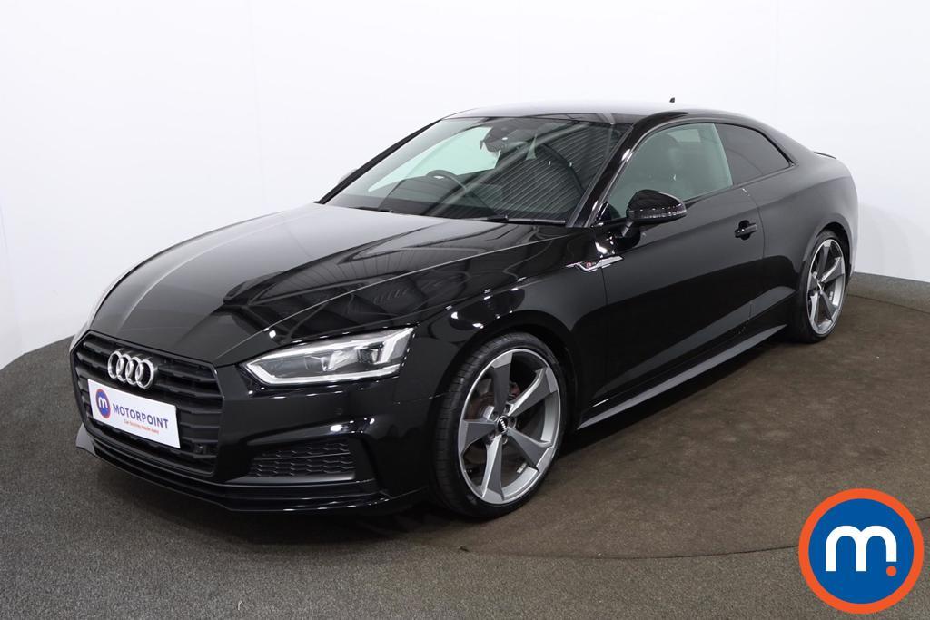 Audi A5 40 TFSI Black Edition 2dr S Tronic - Stock Number 1193902 Passenger side front corner