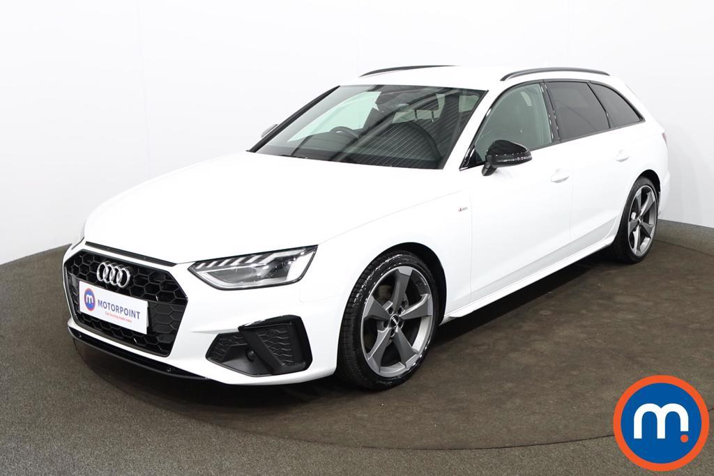 Audi A4 35 TDI Black Edition 5dr S Tronic - Stock Number 1188148 Passenger side front corner