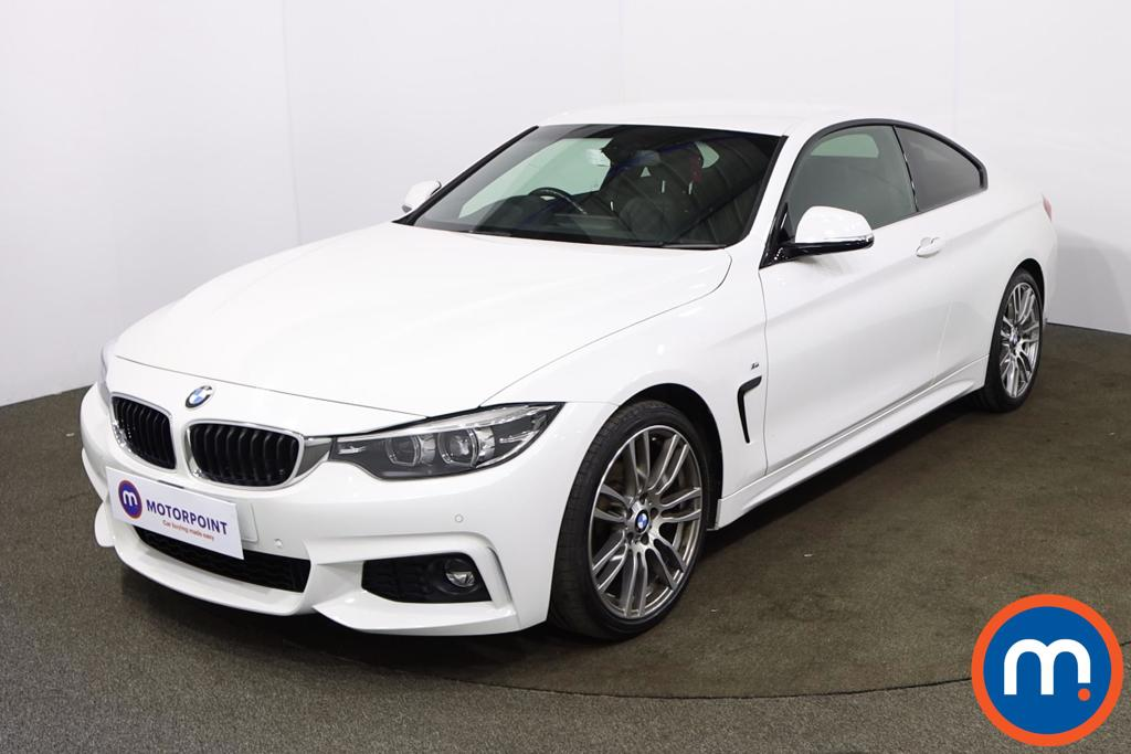 BMW 4 Series 420i M Sport 2dr Auto [Professional Media] - Stock Number 1193490 Passenger side front corner
