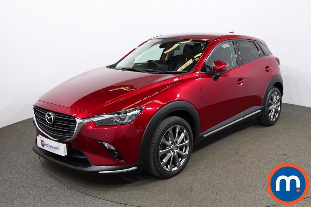Mazda Cx-3 2.0 Sport Nav -Plus 5dr - Stock Number 1194350 Passenger side front corner