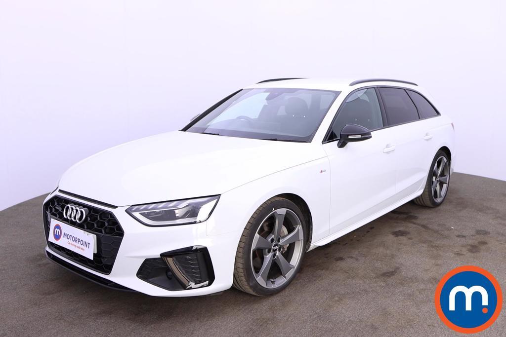 Audi A4 40 TDI Quattro Black Edition 5dr S Tronic - Stock Number 1187839 Passenger side front corner