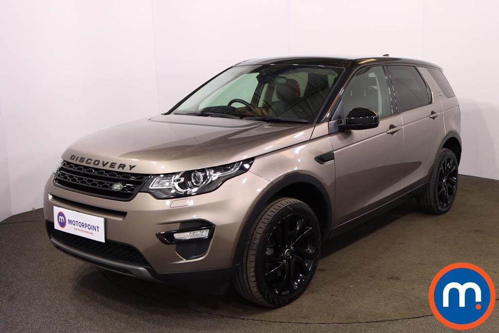 Land Rover Discovery Sport 2.0 TD4 180 HSE Black 5dr Auto - Stock Number 1192921 Passenger side front corner