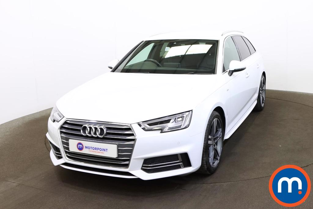 Audi A4 1.4T FSI S Line 5dr [Leather-Alc-Tech Pack] - Stock Number 1193997 Passenger side front corner
