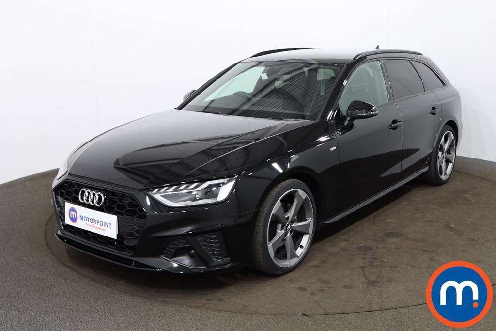 Audi A4 35 TDI Black Edition 5dr S Tronic - Stock Number 1194677 Passenger side front corner