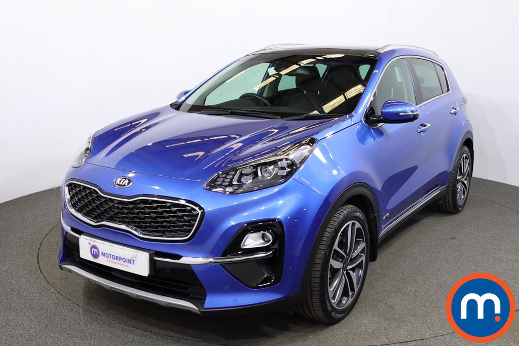 KIA Sportage 1.6T GDi ISG 4 5dr DCT Auto [AWD] - Stock Number 1195735 Passenger side front corner