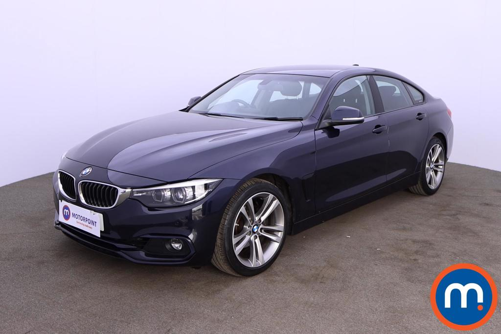 BMW 4 Series 420i Sport 5dr Auto [Business Media] - Stock Number 1190658 Passenger side front corner