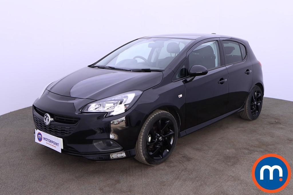 Vauxhall Corsa 1.4 SRi Vx-line Nav Black 5dr - Stock Number 1192540 Passenger side front corner