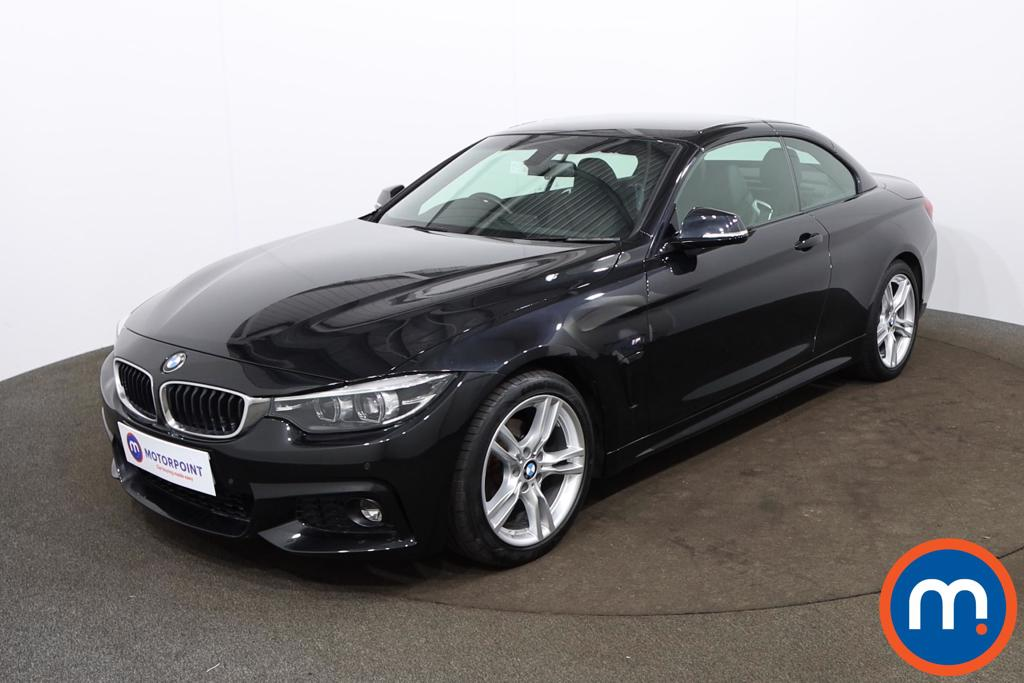 BMW 4 Series 420i M Sport 2dr Auto [Professional Media] - Stock Number 1194330 Passenger side front corner