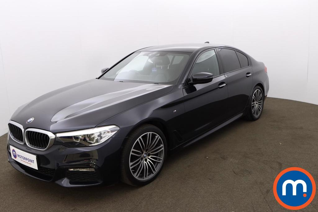 BMW 5 Series 530d M Sport 4dr Auto - Stock Number 1194368 Passenger side front corner