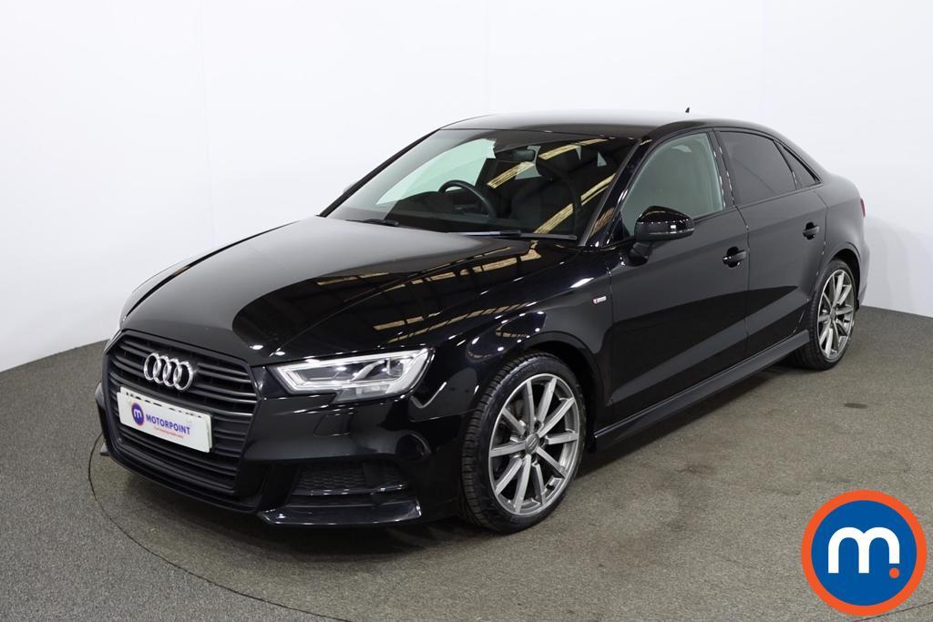Audi A3 2.0 TDI Black Edition 4dr - Stock Number 1195368 Passenger side front corner
