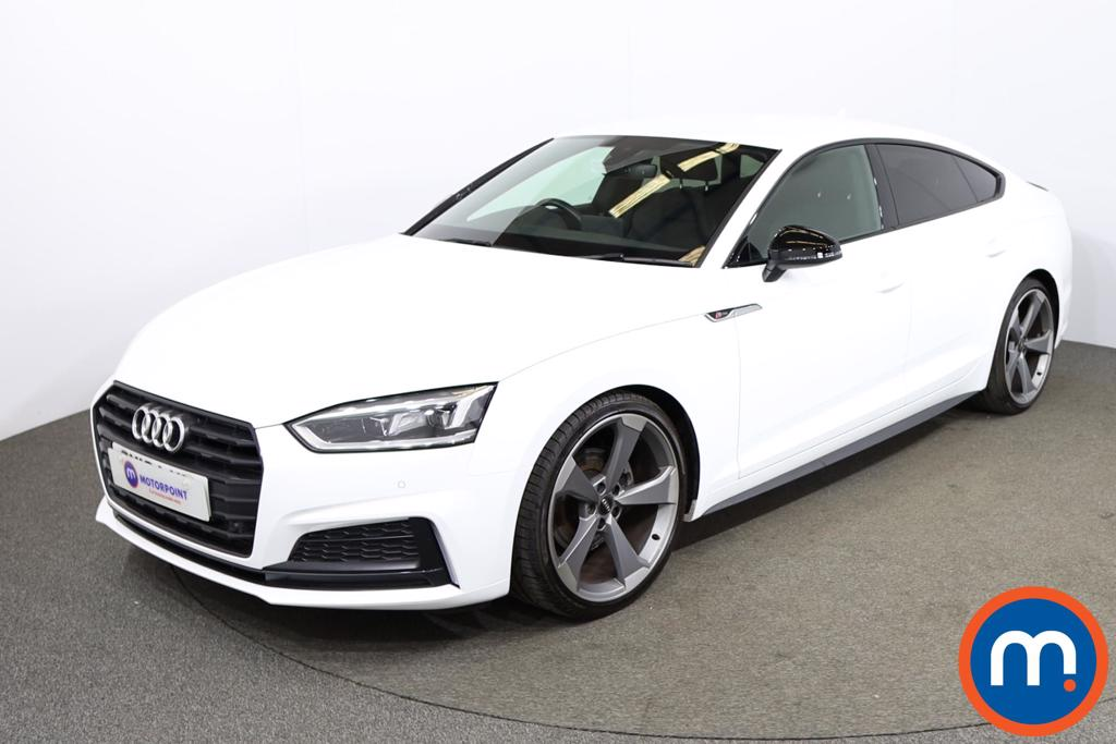 Audi A5 35 TFSI Black Edition 5dr S Tronic - Stock Number 1195400 Passenger side front corner