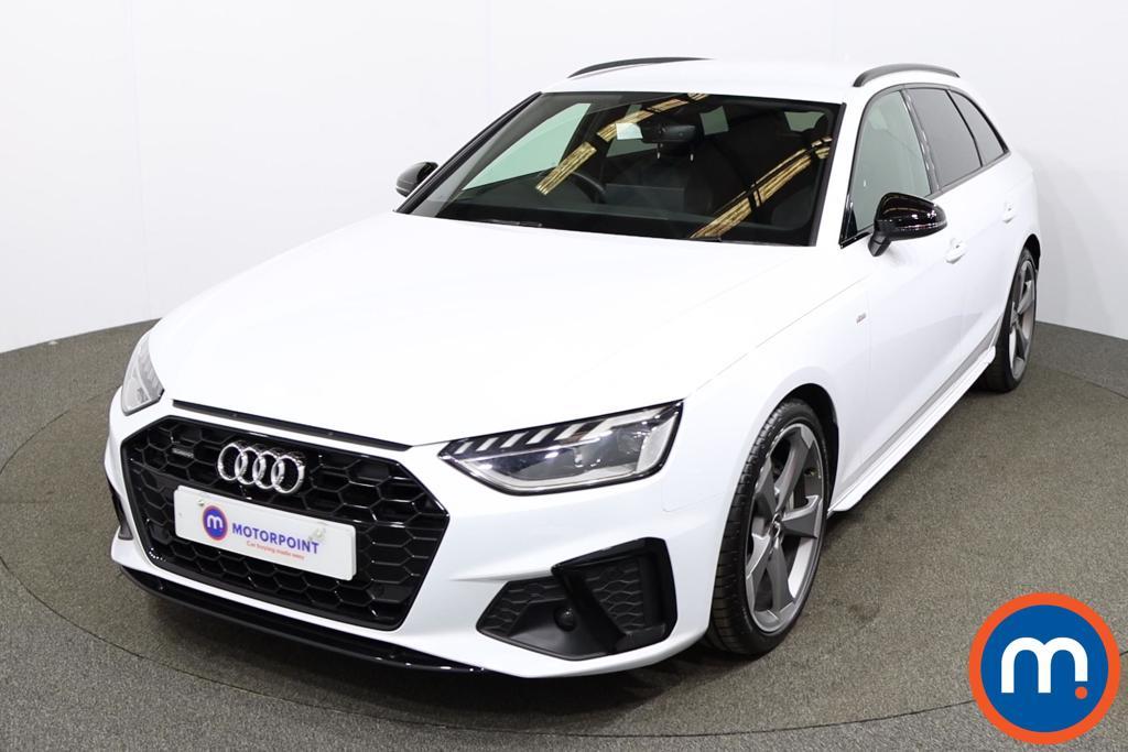 Audi A4 40 TDI Quattro Black Edition 5dr S Tronic - Stock Number 1187836 Passenger side front corner