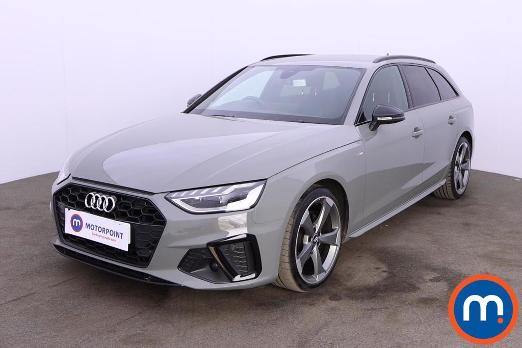 Audi A4 35 TDI Black Edition 5dr S Tronic - Stock Number 1188155 Passenger side front corner