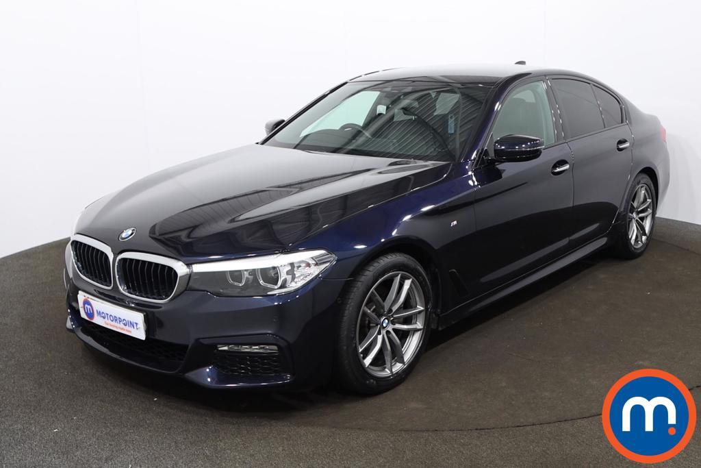 BMW 5 Series 520d M Sport 4dr Auto - Stock Number 1196238 Passenger side front corner
