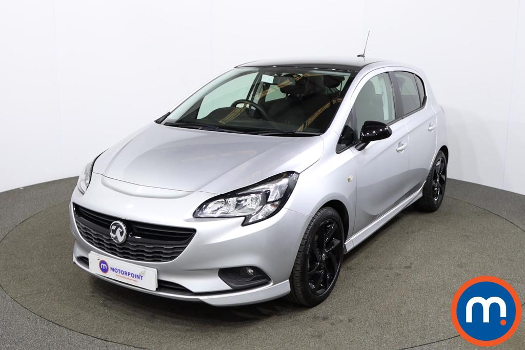 Vauxhall Corsa 1.4 SRi Vx-line Nav Black 5dr - Stock Number 1197462 Passenger side front corner
