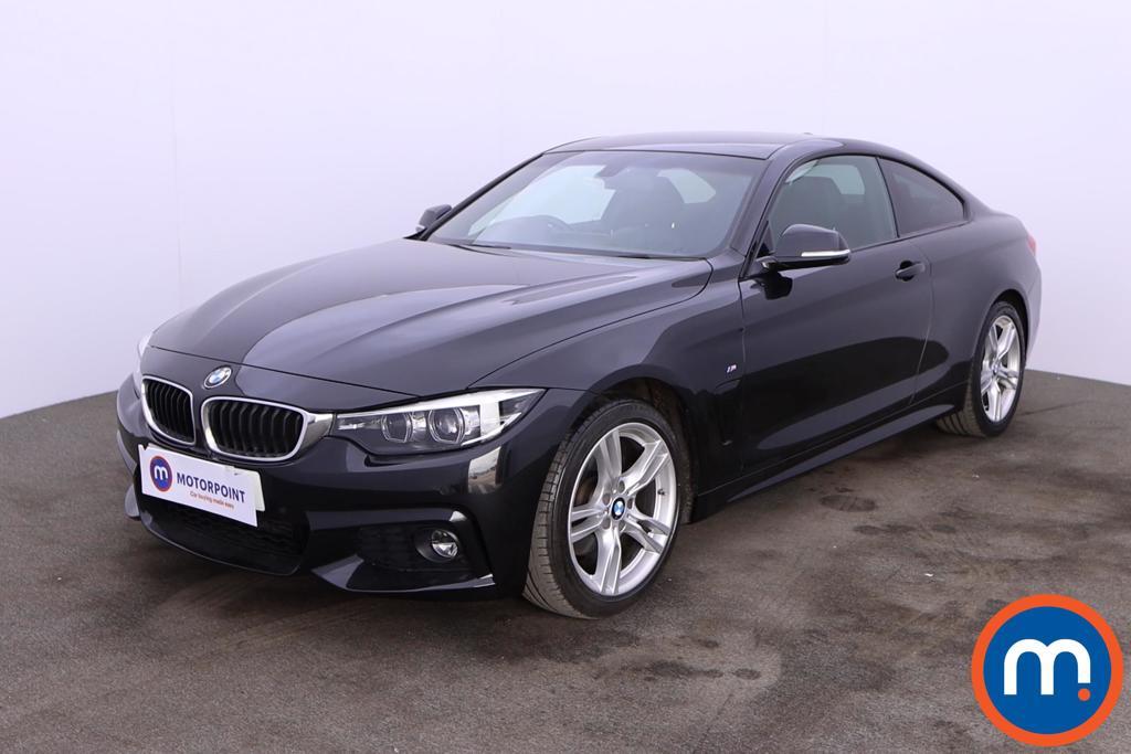 BMW 4 Series 420d [190] M Sport 2dr [Professional Media] - Stock Number 1195971 Passenger side front corner