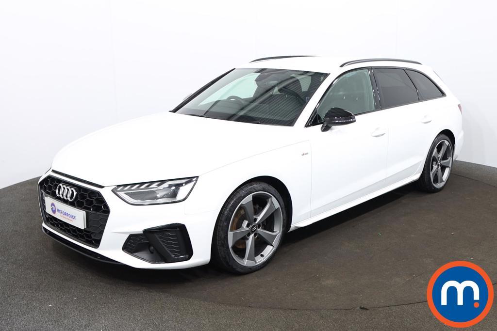 Audi A4 35 TDI Black Edition 5dr S Tronic - Stock Number 1188139 Passenger side front corner