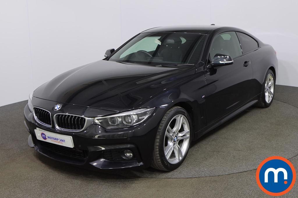 BMW 4 Series 420d [190] M Sport 2dr Auto [Professional Media] - Stock Number 1195923 Passenger side front corner