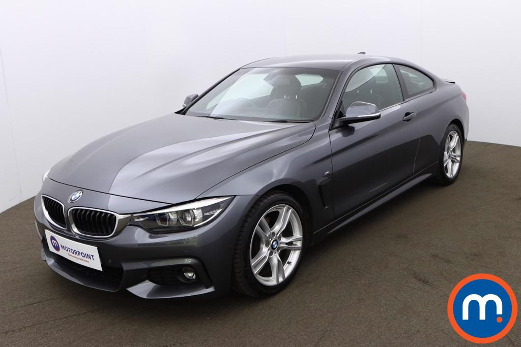 BMW 4 Series 420d [190] M Sport 2dr Auto [Professional Media] - Stock Number 1196119 Passenger side front corner