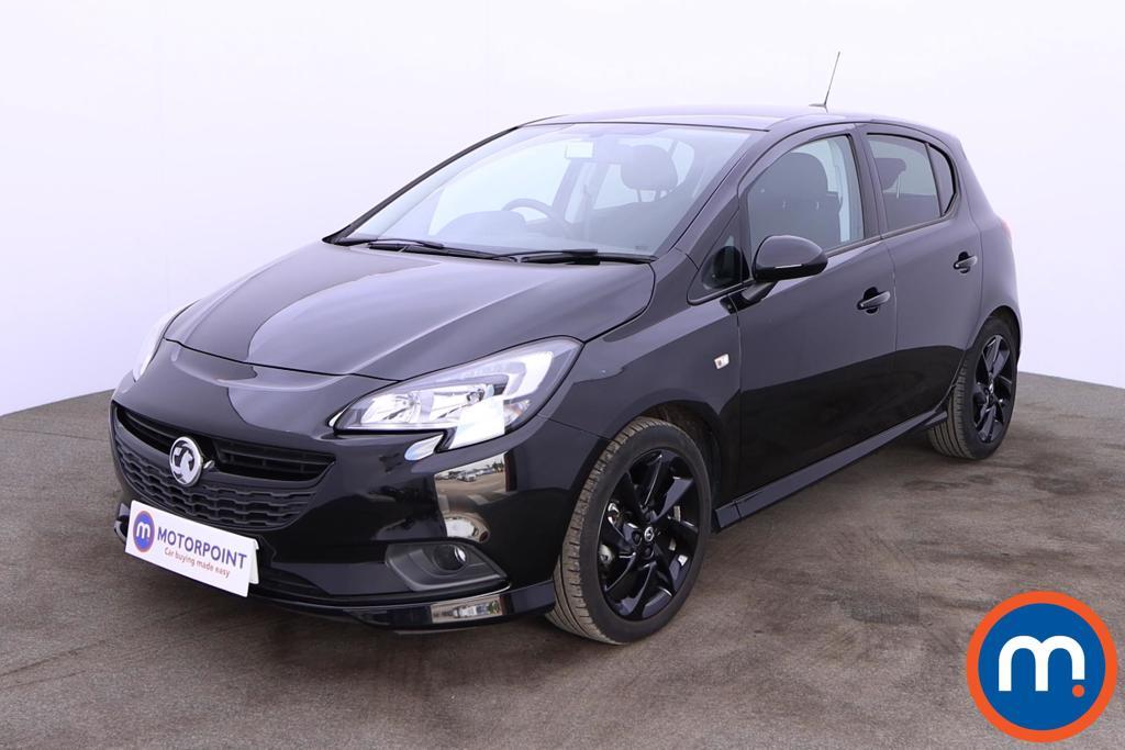 Vauxhall Corsa 1.4 SRi Vx-line Nav Black 5dr - Stock Number 1197466 Passenger side front corner