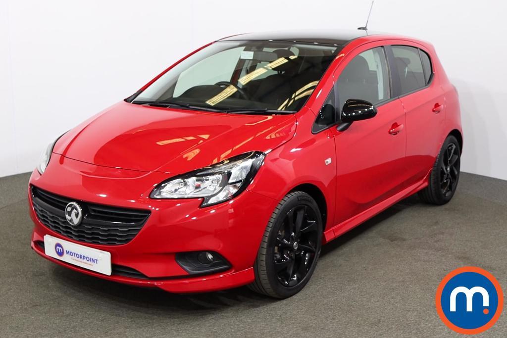 Vauxhall Corsa 1.4 SRi Vx-line Nav Black 5dr - Stock Number 1188585 Passenger side front corner