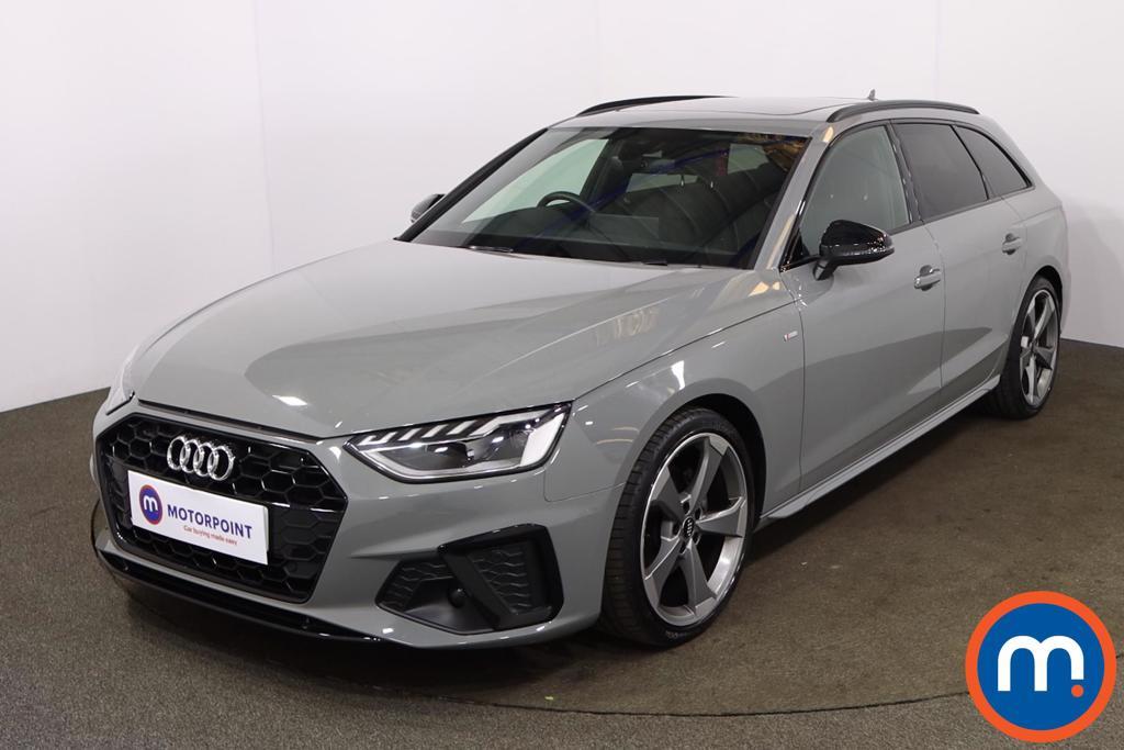 Audi A4 30 TDI Black Edition 5dr S Tronic [Comfort-PlusSound] - Stock Number 1194684 Passenger side front corner