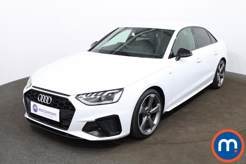 Audi A4 35 TFSI Black Edition 4dr S Tronic - Stock Number 1196092 Passenger side front corner