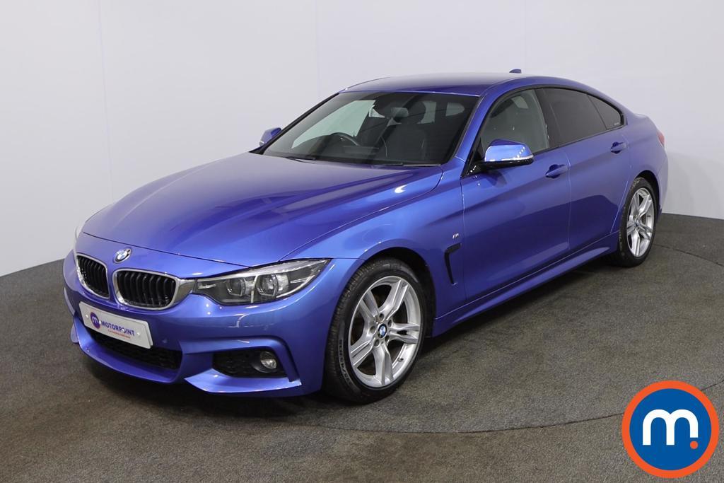 BMW 4 Series 420d [190] M Sport 5dr Auto [Professional Media] - Stock Number 1178546 Passenger side front corner