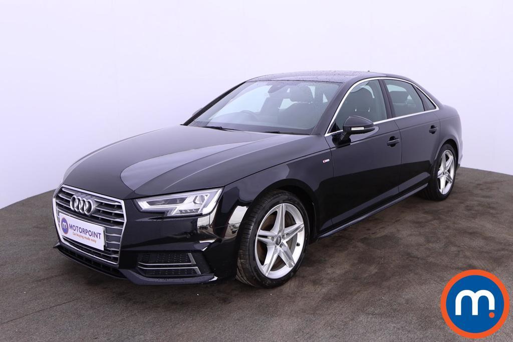 Audi A4 1.4T FSI S Line 4dr [Leather-Alc] - Stock Number 1196568 Passenger side front corner