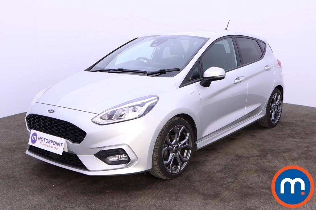 Ford Fiesta 1.0 EcoBoost ST-Line X 5dr - Stock Number 1199288 Passenger side front corner