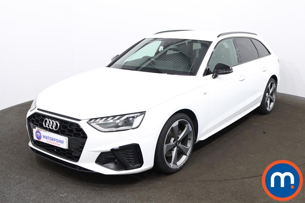Audi A4 35 TDI Black Edition 5dr S Tronic - Stock Number 1188147 Passenger side front corner