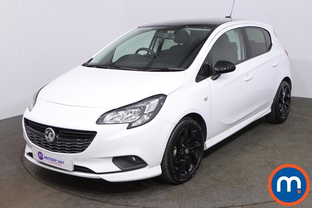 Vauxhall Corsa 1.4 SRi Vx-line Nav Black 5dr - Stock Number 1192549 Passenger side front corner