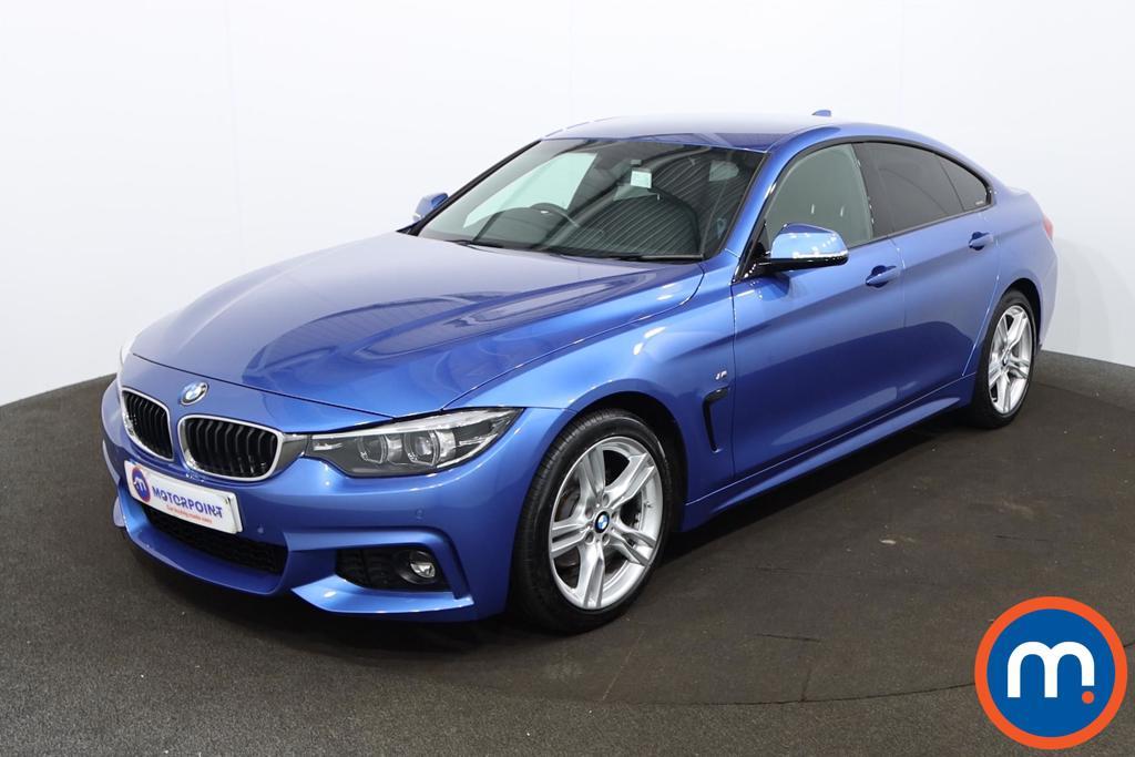 BMW 4 Series 420d [190] M Sport 5dr Auto [Professional Media] - Stock Number 1199190 Passenger side front corner