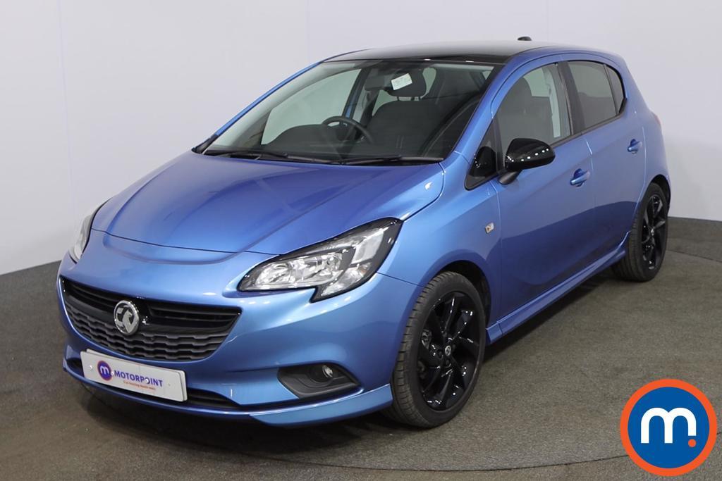 Vauxhall Corsa 1.4 SRi Vx-line Nav Black 5dr - Stock Number 1192550 Passenger side front corner