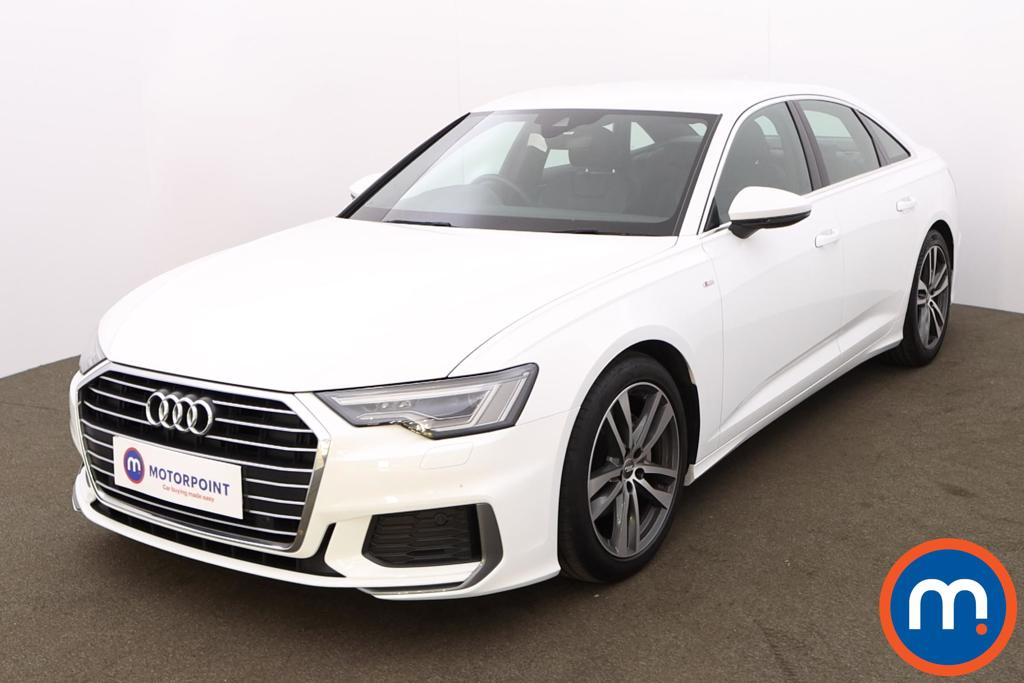 Audi A6 40 TDI S Line 4dr S Tronic [Tech Pack] - Stock Number 1190138 Passenger side front corner
