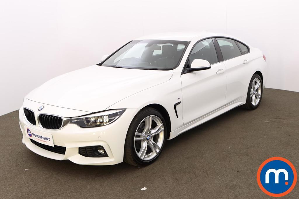 BMW 4 Series 420i M Sport 5dr Auto [Professional Media] - Stock Number 1198459 Passenger side front corner